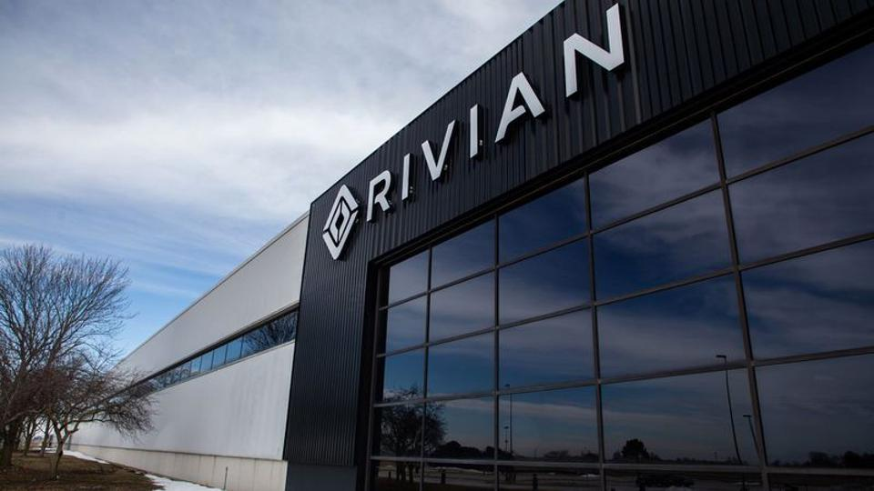 Rivian Automotive, located in the former Mitsubishi plant in Normal, Illinois