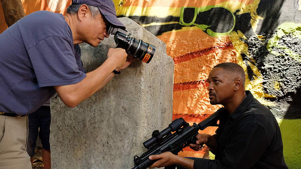 Ang Lee directs Will Smith in 'Gemini Man'