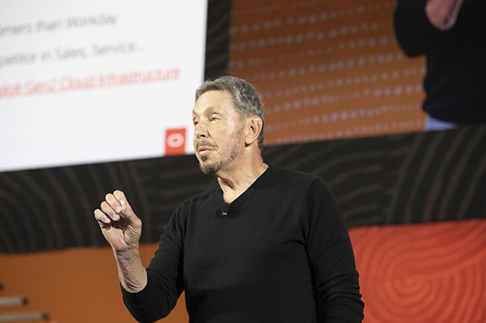 At Oracle OpenWorld, Oracle Chairman and CTO Larry Ellison told the crowd that the company continues to innovate, at both the application and infrastructure levels.