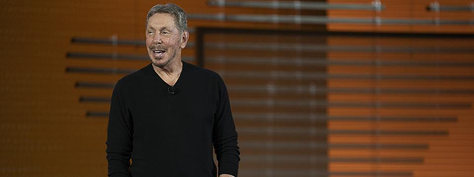 Oracle Chairman and CTO Larry Ellison