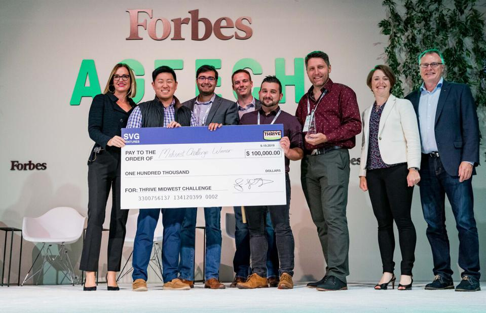 Forbes THRIVE Midwest Challenge Winners