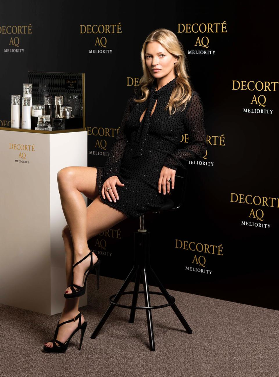Kate Moss in Tokyo for DECORTÉ