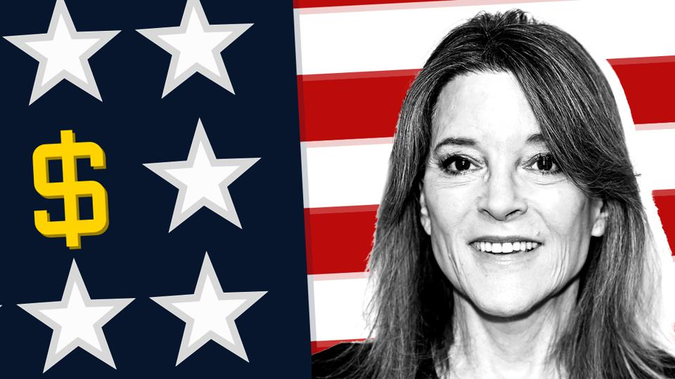 2020 presidential candidate Marianne Williamson's net worth