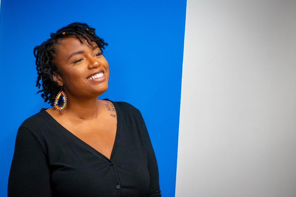 Ashlei Spivey, founder of I Be Black Girl , Photo Credit: Abiola Kosoko