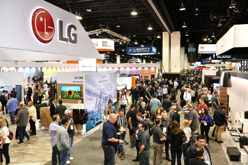 Designers attend smart home technology show