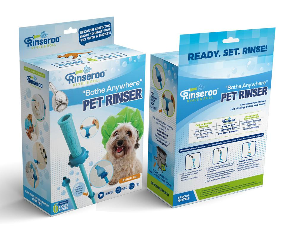 Rinseroo pet shower attachment