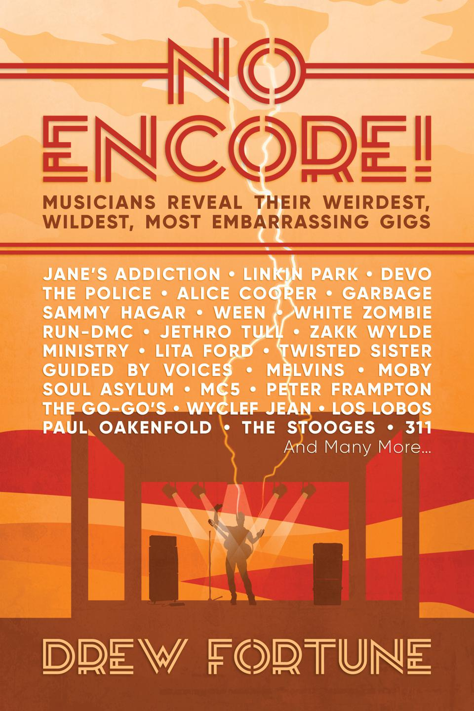 Cover of 'No Encore!' book by Drew Fortune.