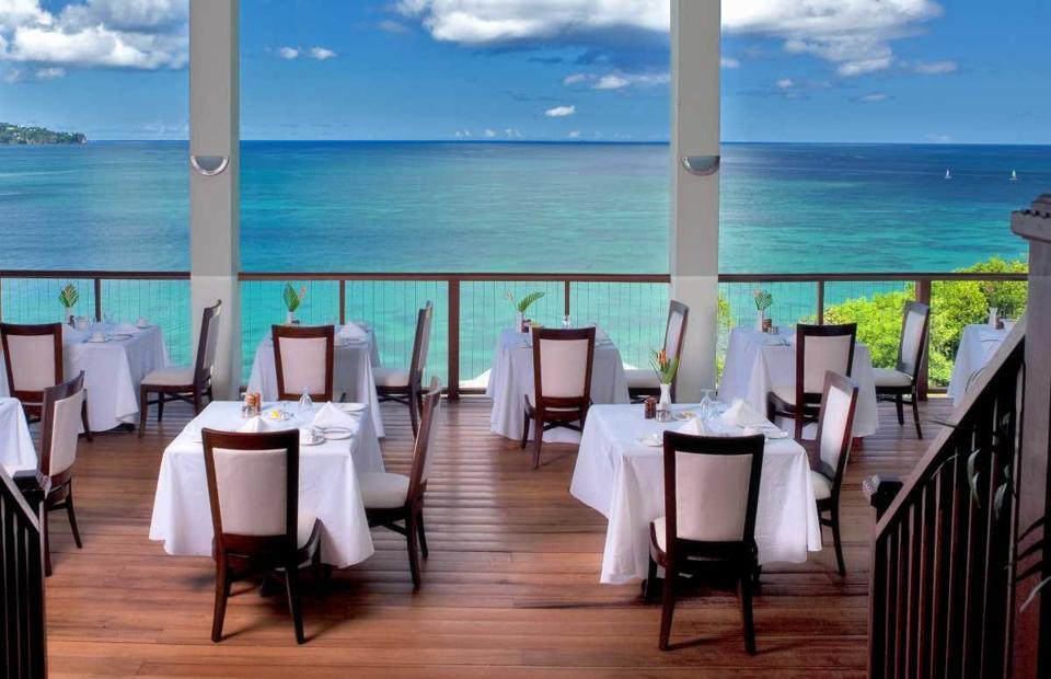 windsong restaurant st. lucia