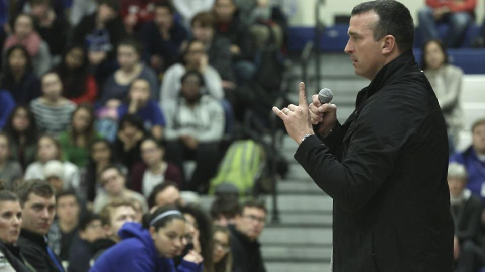 Chris Herren Cuts Deep With Students Through The First Day