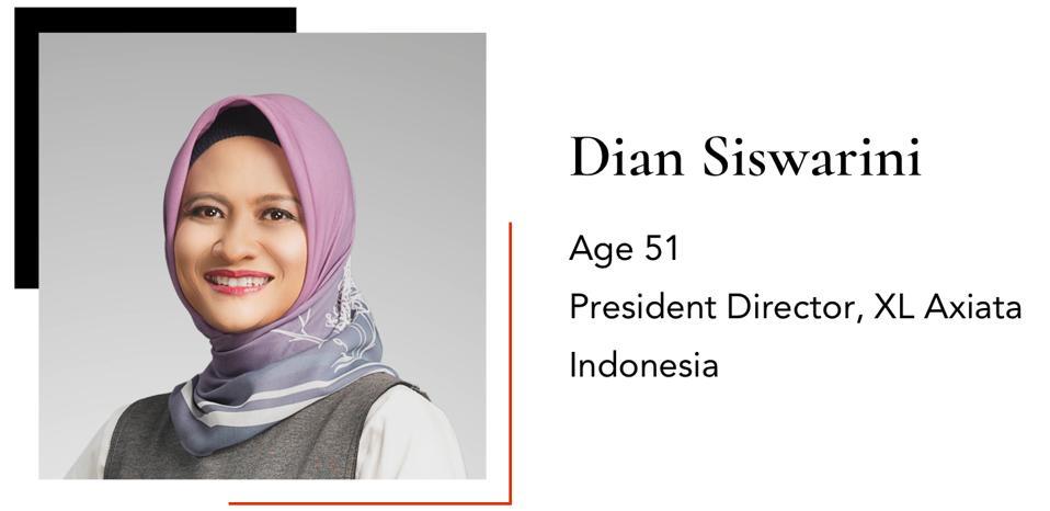 Dian Siswarini Age 51 President Director, XL Axiata Indonesia