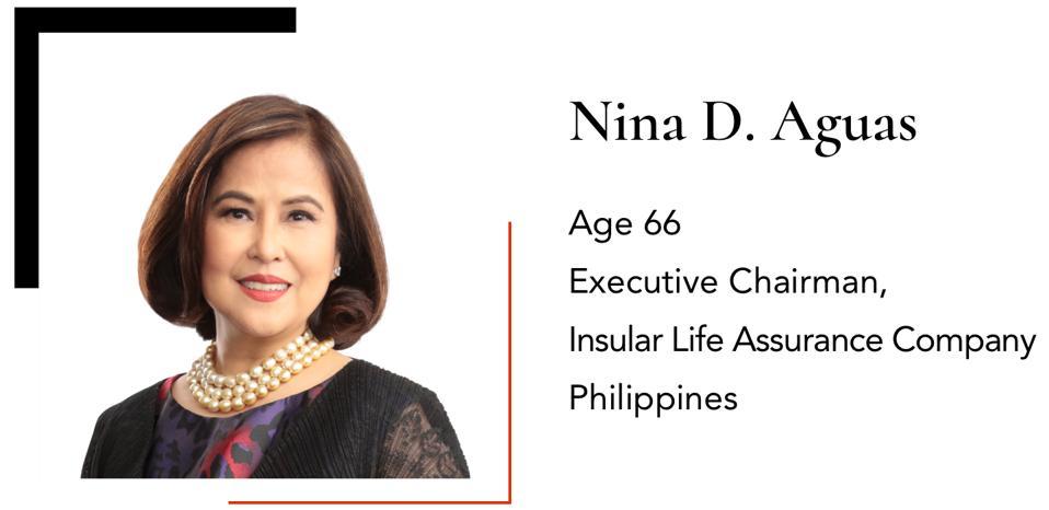 D. AguasNinaExecutive ChairmanInsular Life Assurance Company66Philippines