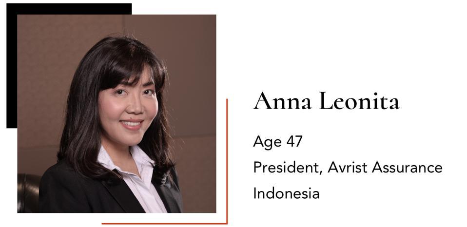 LeonitaAnnaPresidentAvrist Assurance47Indonesia