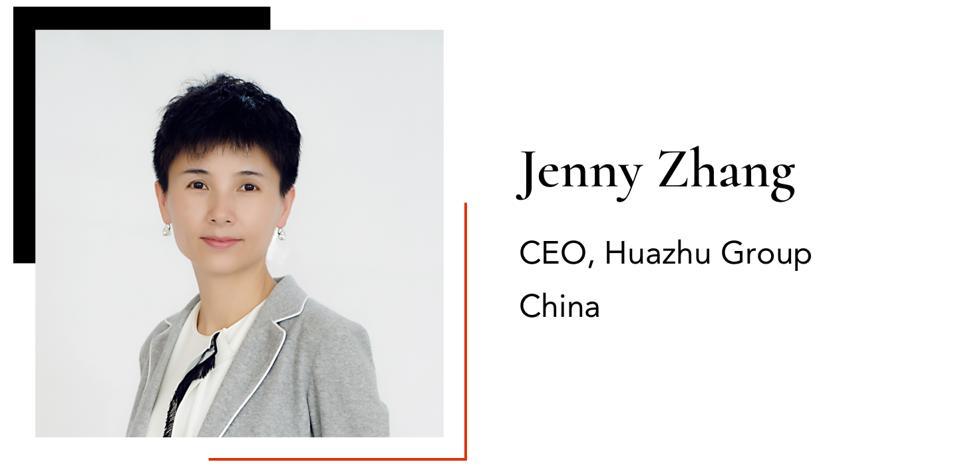 ZhangJennyCEO Huazhu Group China
