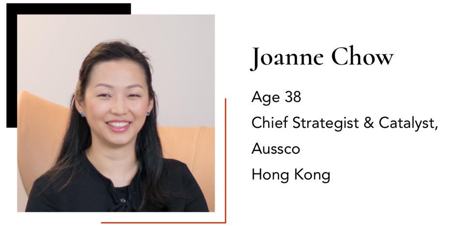 ChowJoanneChief Strategist & CatalystAussco38Hong Kong