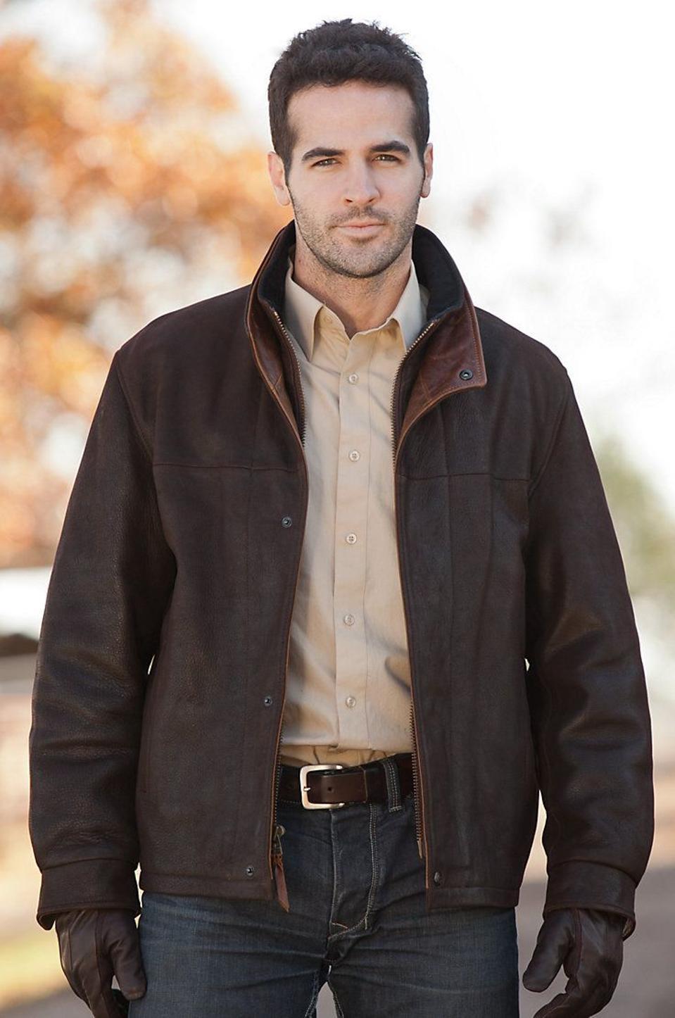 Orvis Romano Leather Jacket