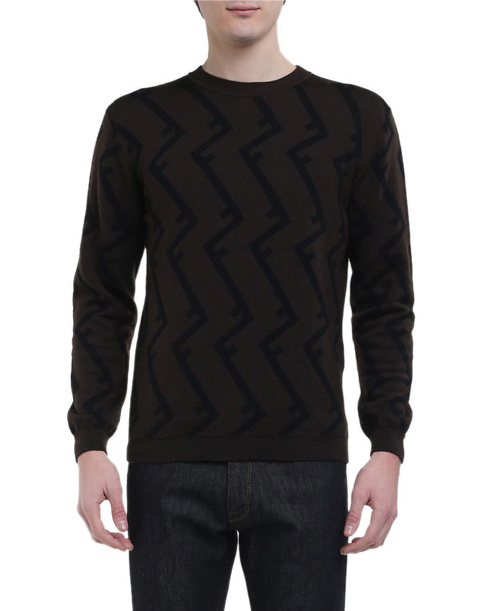 Geometric FF Logo Sweater