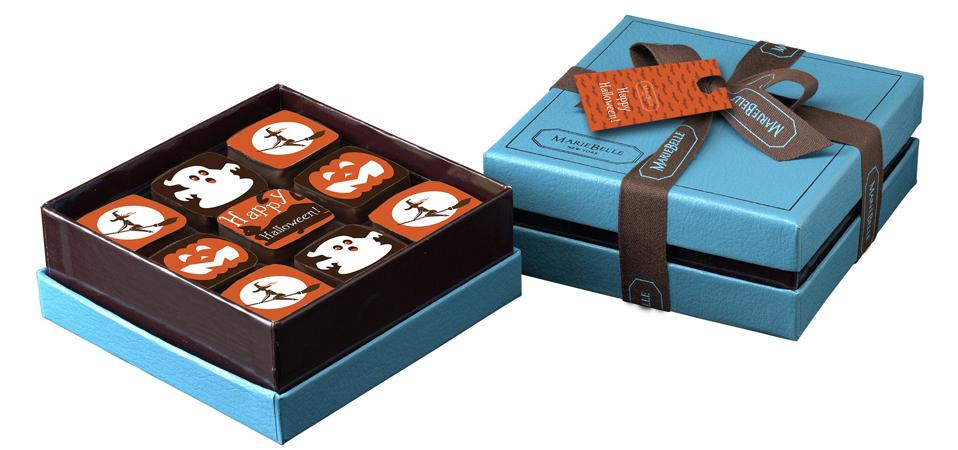 Artisan chocolates for Halloween from MarieBelle