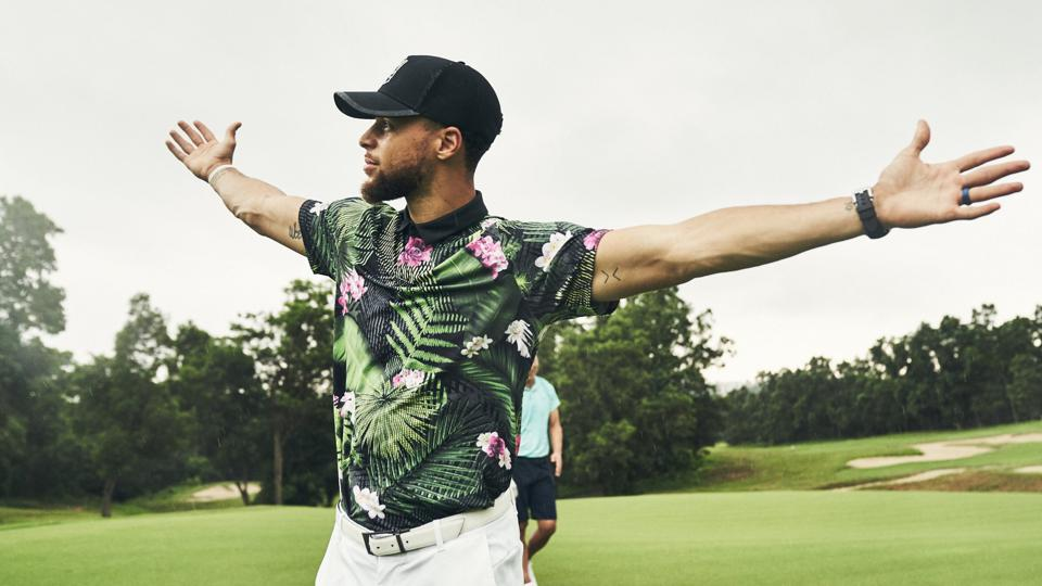 "Stephen Curry's Under Armour ""Range Unlimited"" Golf Line Blooms"