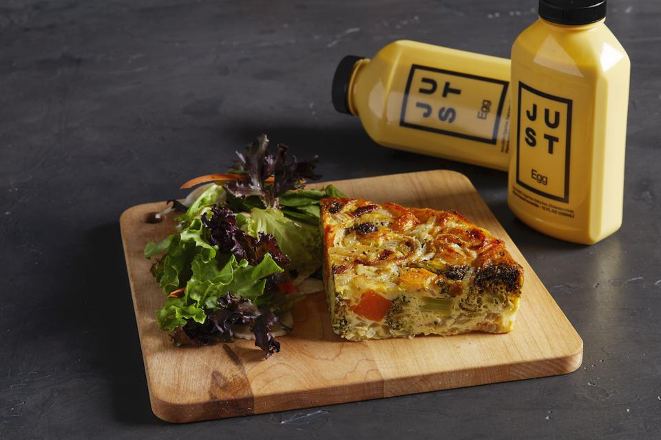 Le Pain Quotidien Frittata made with plant-based JUST Egg.