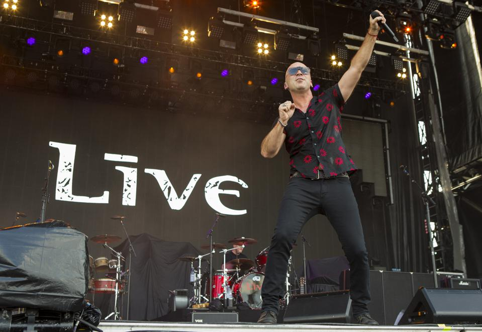 Ed Kowalczyk of Live performs on day 1 of Bourbon and Beyond 2019. Friday, September 20, 2019 in Louisville, Kentucky