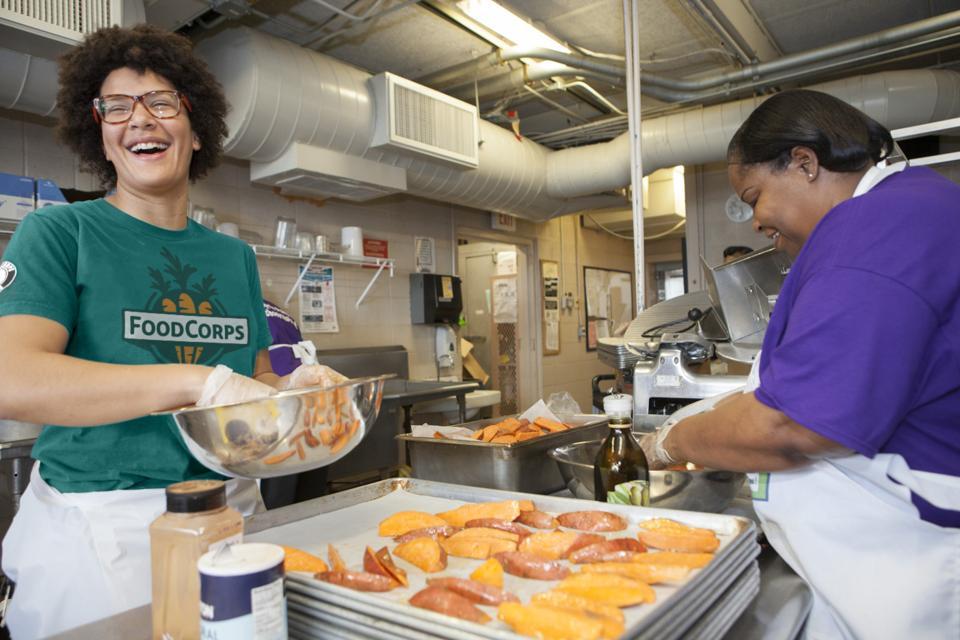 FoodCorps service member Lindsey Alade.