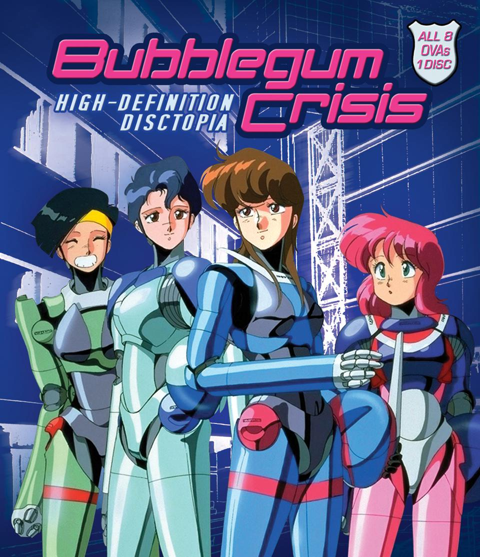 'Bubblegum Crisis' Blu-Ray Review: A Wonderfully Animated Cyberpunk Cult Classic