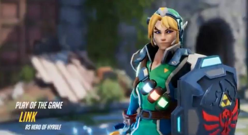'Overwatch Link' Is The Nintendo-Blizzard Crossover We Need, But Will Never Get