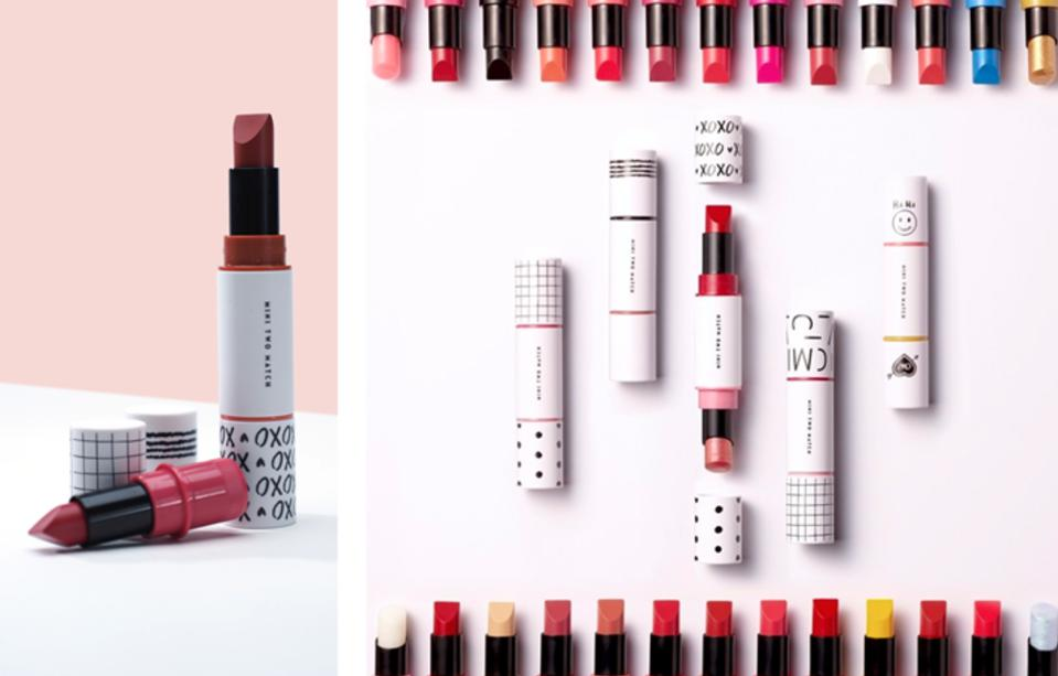 Mini Two Match lipstick