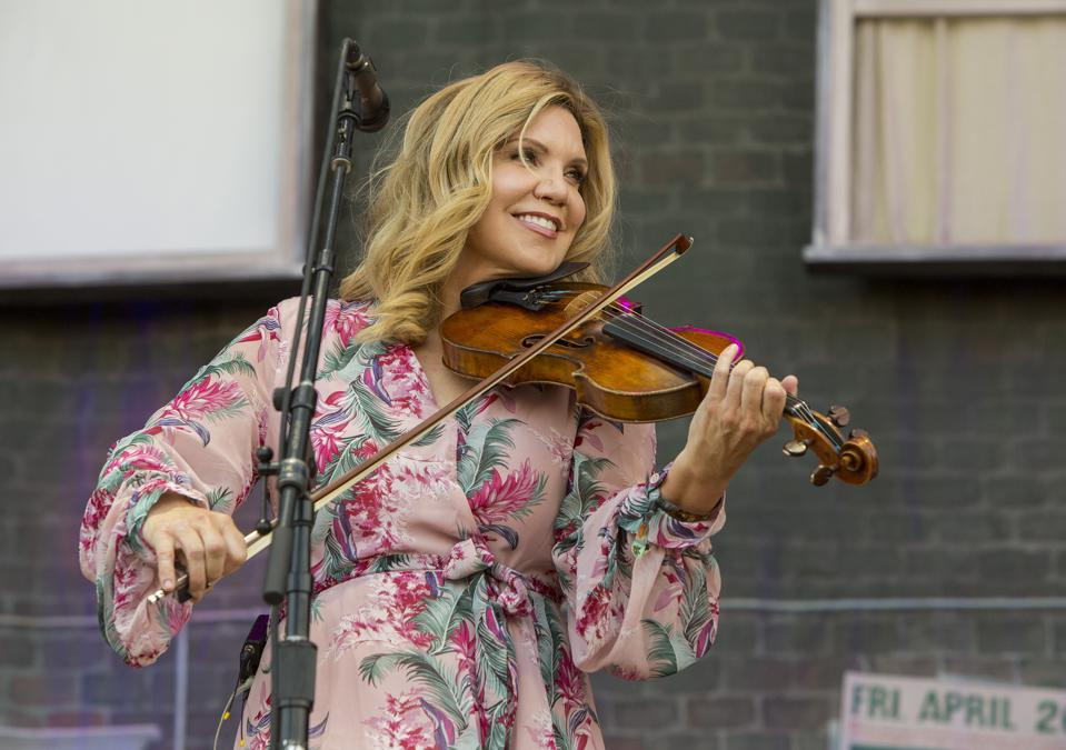 Alison Krauss performs on day two of Bourbon and Beyond. Saturday, September 21, 2019 in Louisville, Kentucky (Photo by Barry Brecheisen)