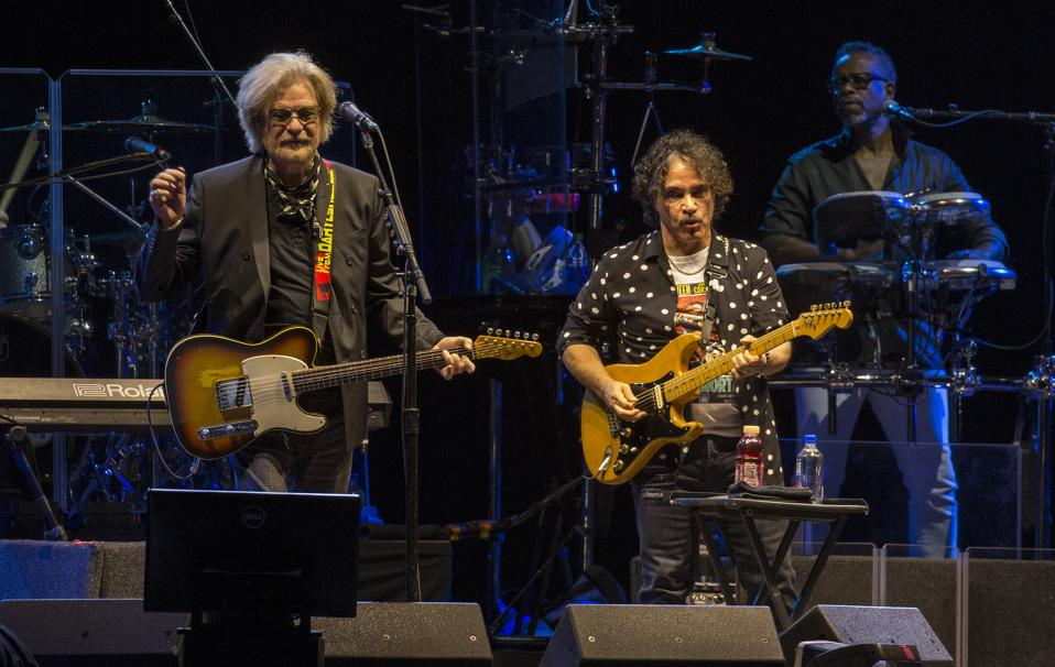 Daryl Hall and John Oates perform on day two of Bourbon and Beyond. Saturday, September 21, 2019 in Louisville, Kentucky (Photo by Barry Brecheisen)