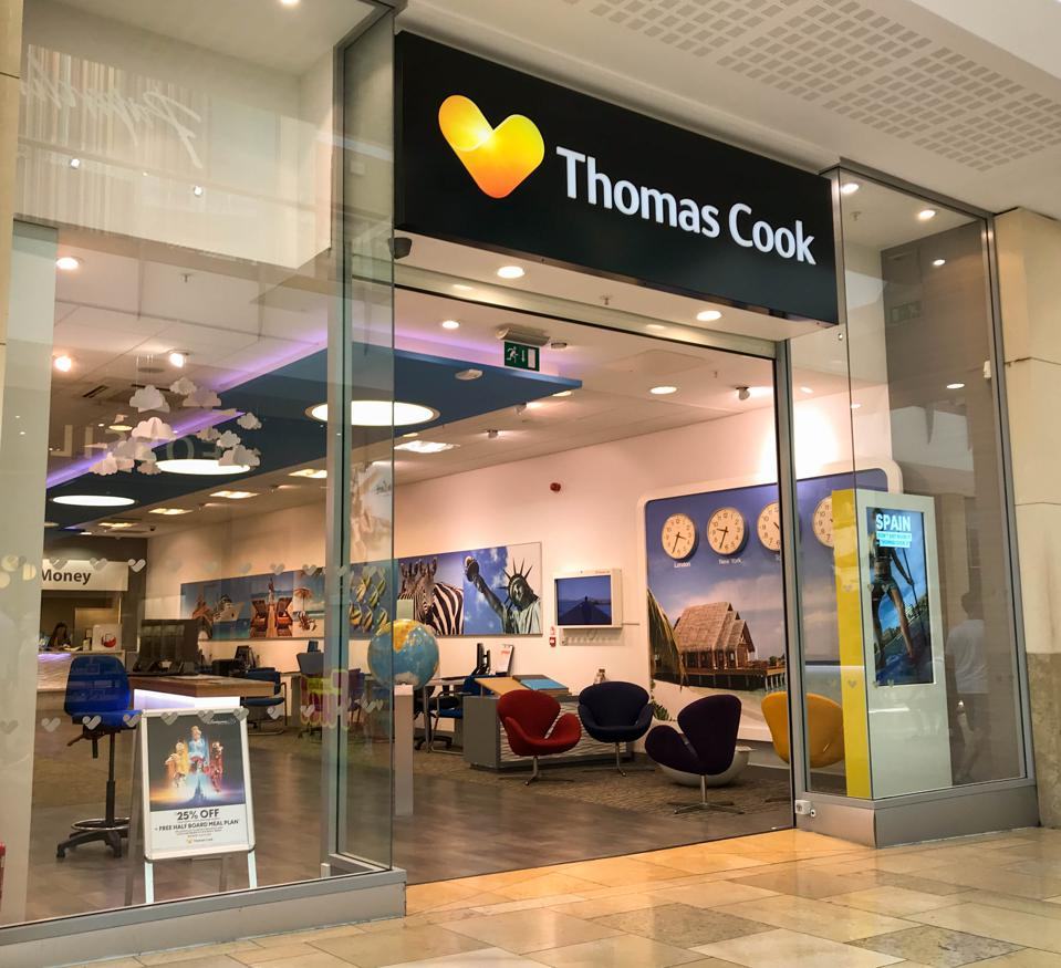 Thomas Cook will disappear from our high streets