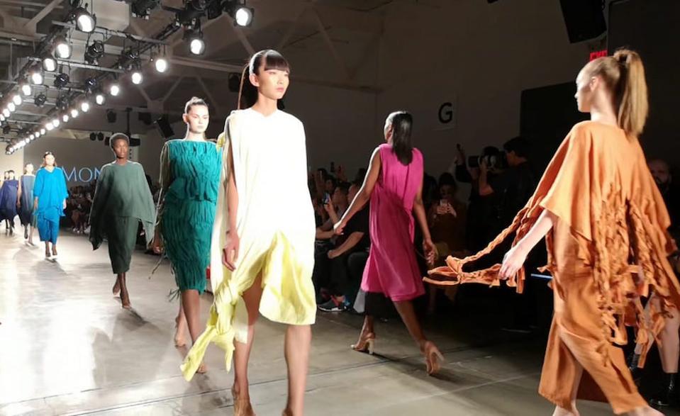 Hamon SS 2020 at New York Fashion Week, September 2019