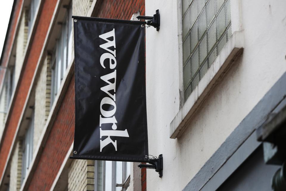 WeWork financials