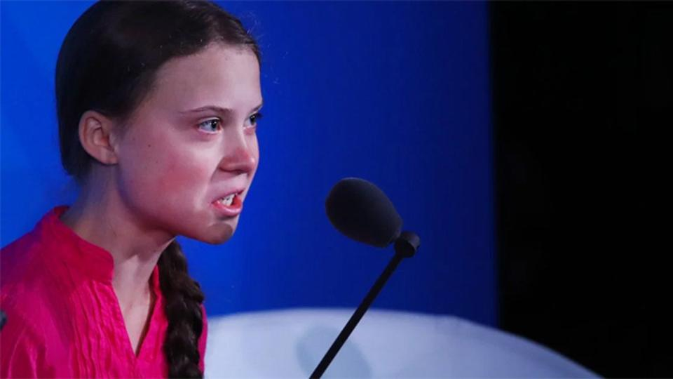 Greta Thunberg gave an emotionally moving speech at the UN climate Summit