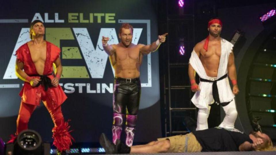 Kenny Omega Young Bucks AEW All Elite Wrestling WWE Young Bucks Triple H Dominik Dijakovic.