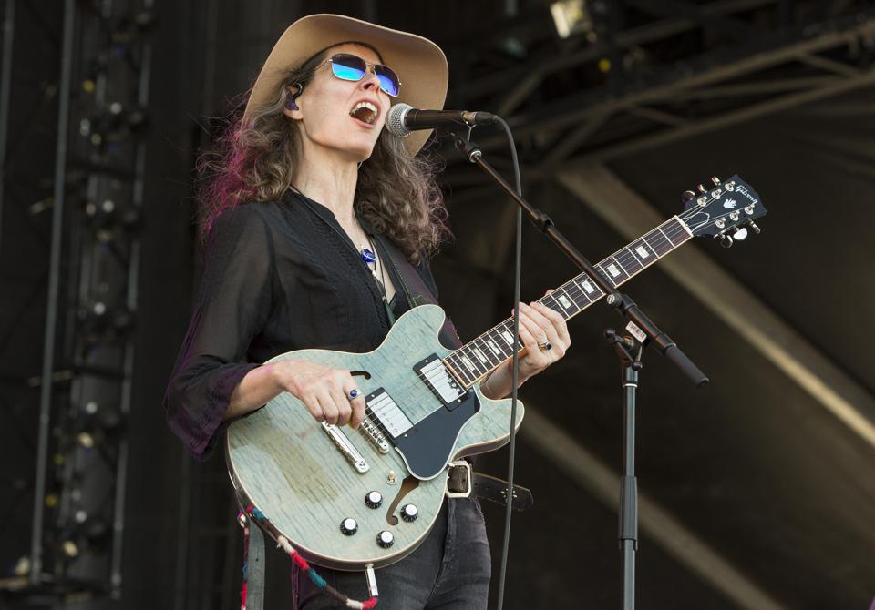 Edie Brickell & New Bohemians perform on day three at Bourbon and Beyond. Sunday, September 22, 2019 in Louisville, Kentucky