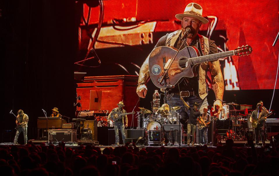 Zac Brown Band closes out the Bourbon and Beyond music festival. Sunday, September 22, 2019 in Louisville, Kentucky (Photo by Barry Brecheisen)
