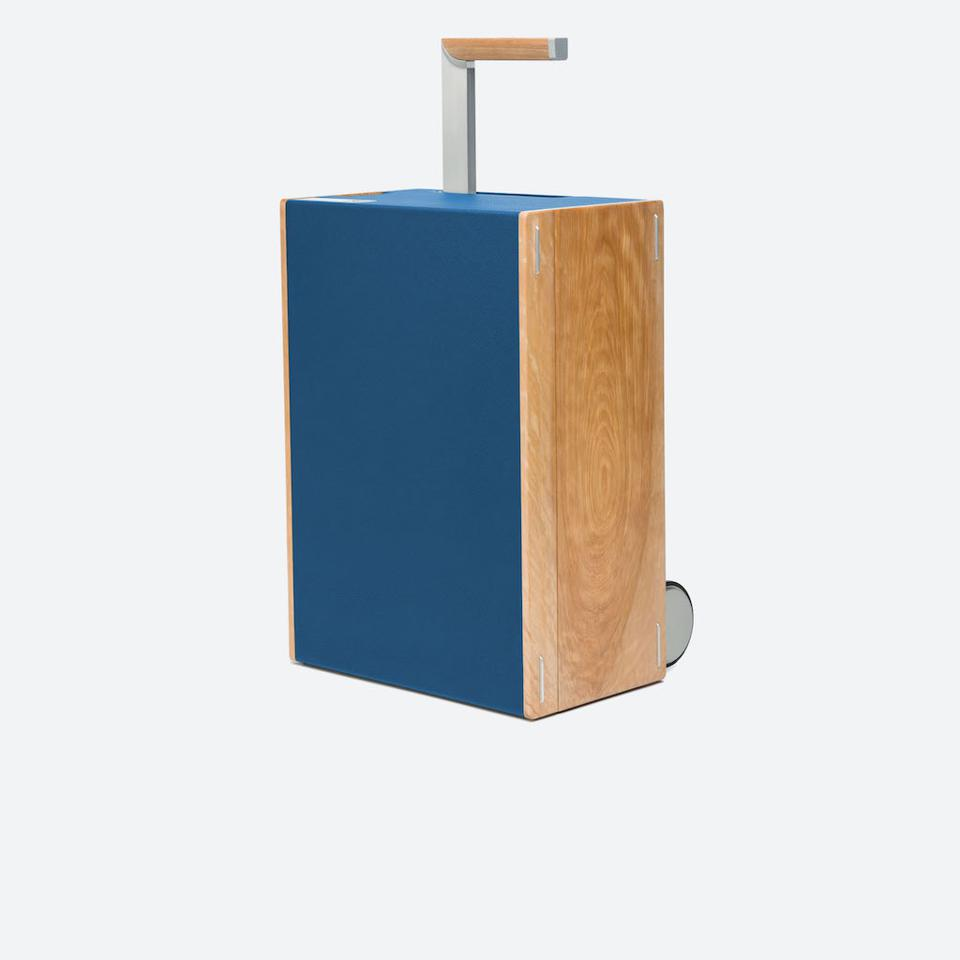 Bonaventure Carry On in Blue from Charles Simon