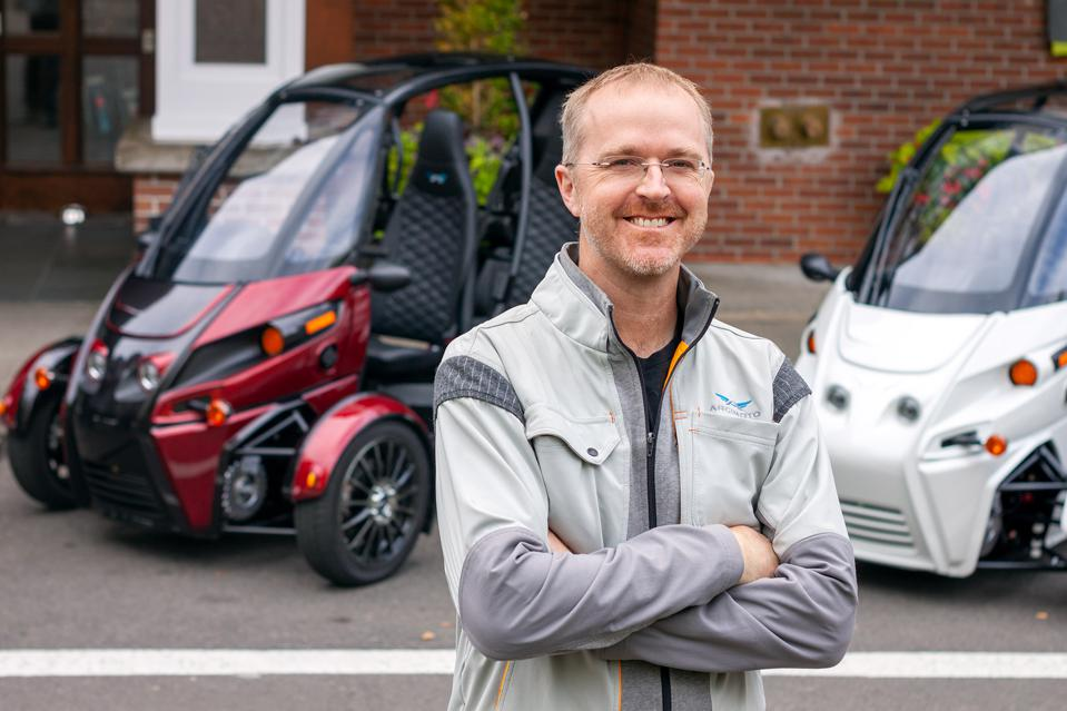 Arcimoto founder and CEO Mark Frohnmayer