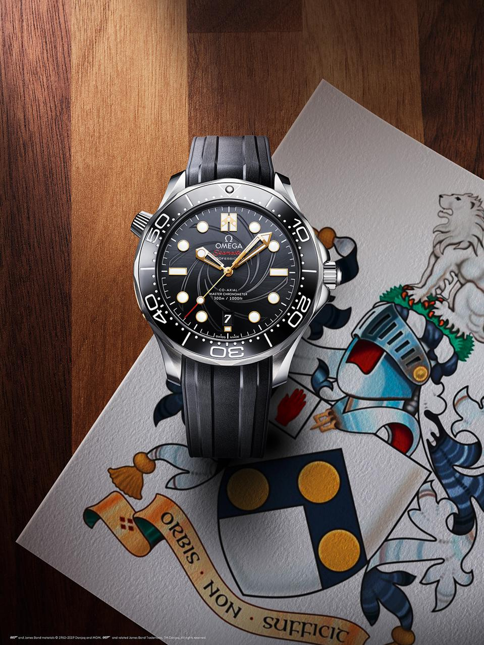 Omega Releases Limited New Seamaster Diver 300M In Celebration Of 50 Years Of James Bond's 'On Her Majesty's Secret Service'