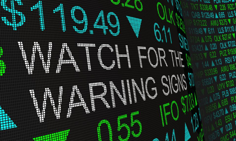 Watch for the Warning Signs Stock Market Prices Trends