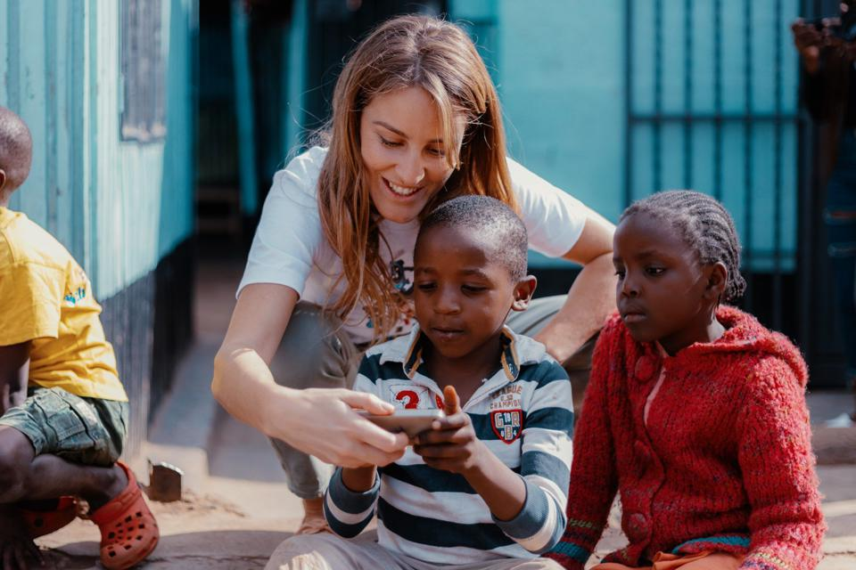 Bisignani's startup Kukua wants to empower the next generation of African children.
