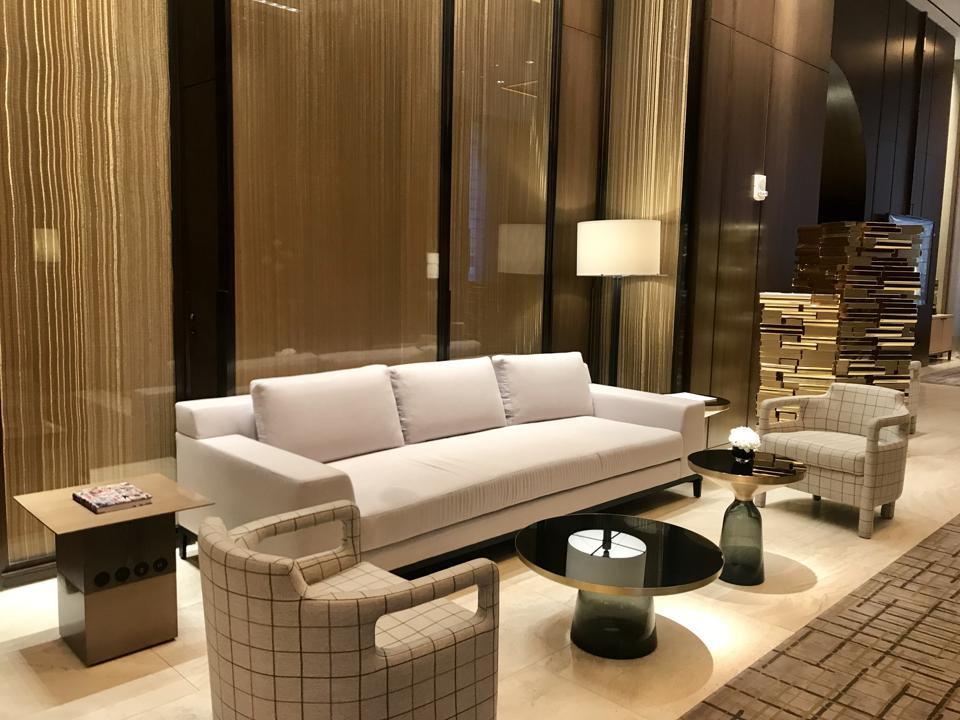 Lobby at Four Seasons Hotel New York Downtown