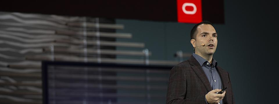 Oracle's Clay Magouyrk told an Oracle OpenWorld crowd that the company's Gen 2 Cloud Infrastructure offers a slate of new security services.