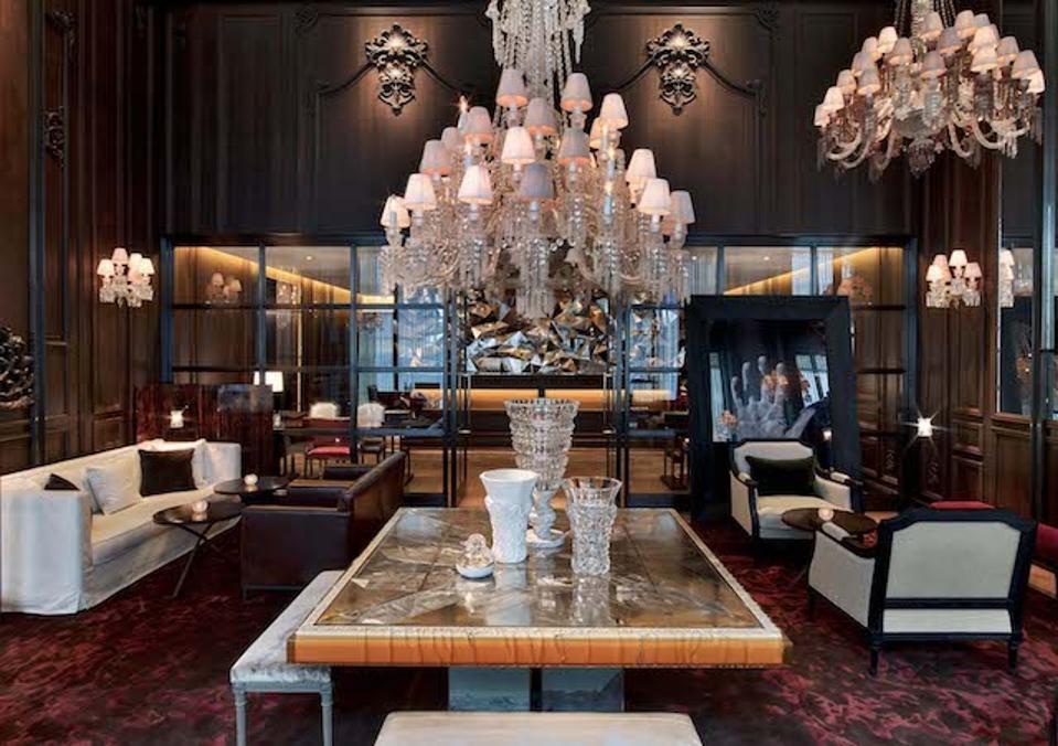 Petit Salon of the Baccarat Hotel New York