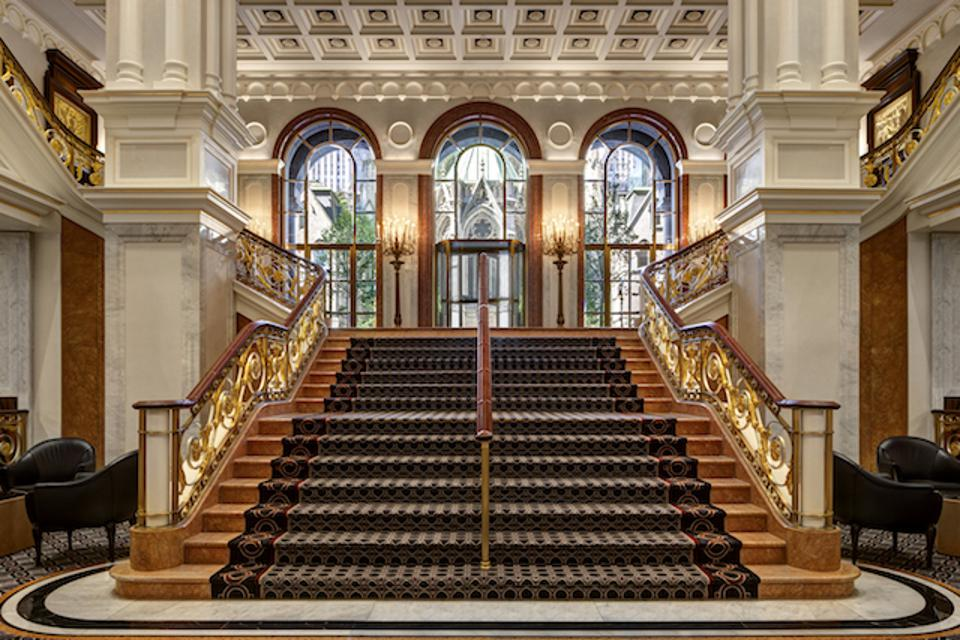 Grand Staircase of the Lotte Palace New York