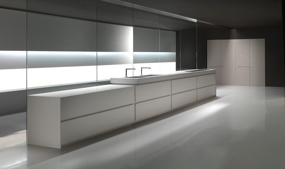 Minimalist, modern kitchen design