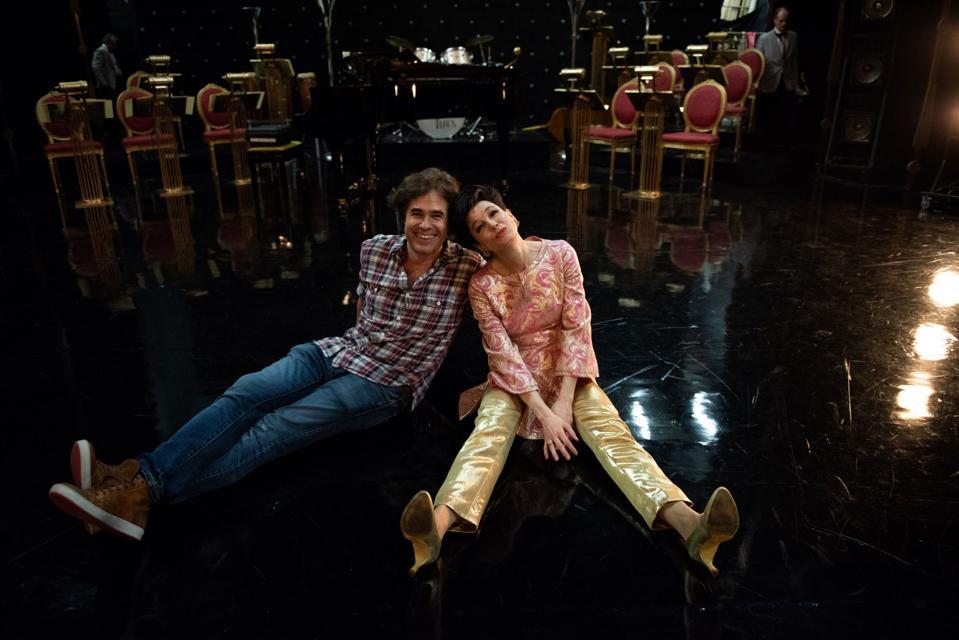 Rupert Goold and Renée Zellweger