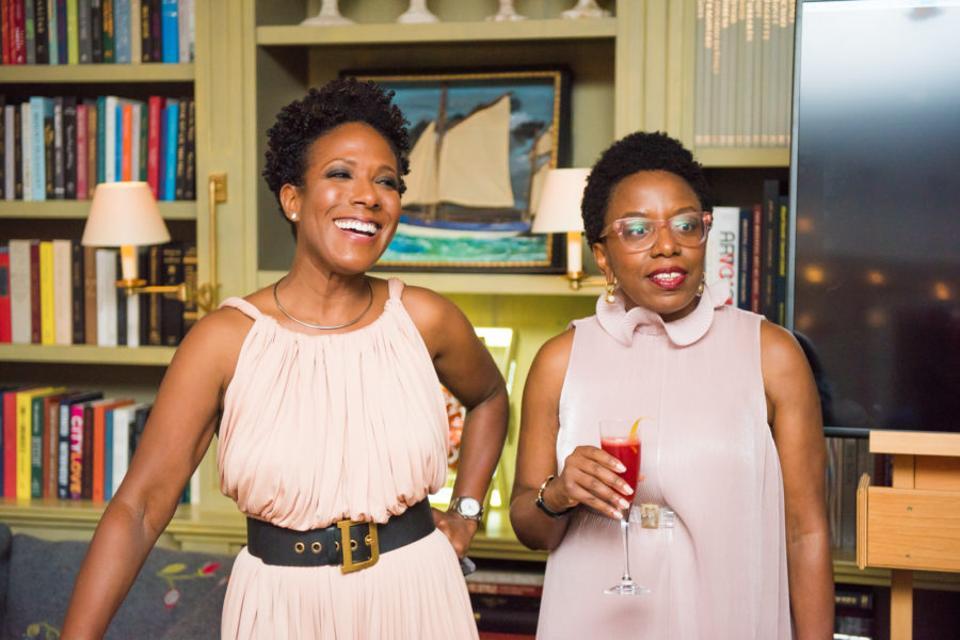 25 Black Women in Beauty Co-Founders Cara Sabin and Ella T. Gorgla