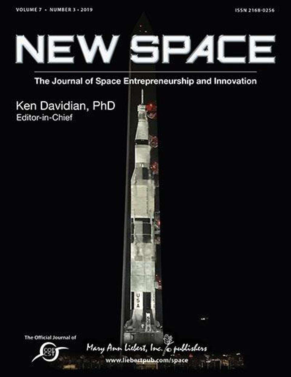 New Space is the only international peer-reviewed journal dedicated to academic, industry, and government contributions to space entrepreneurship and innovation.
